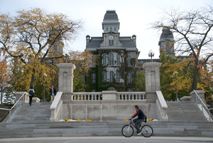 Syracuse University tied for the sixth-highest ranked university in New York.